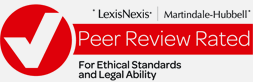 Martindale-Hubbell Peer Review Rated Badge